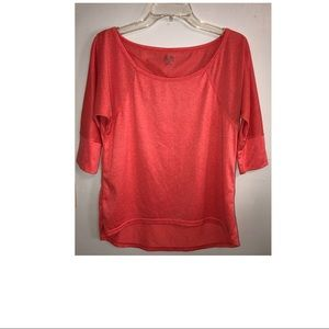 Women's Champion Coral exercise top